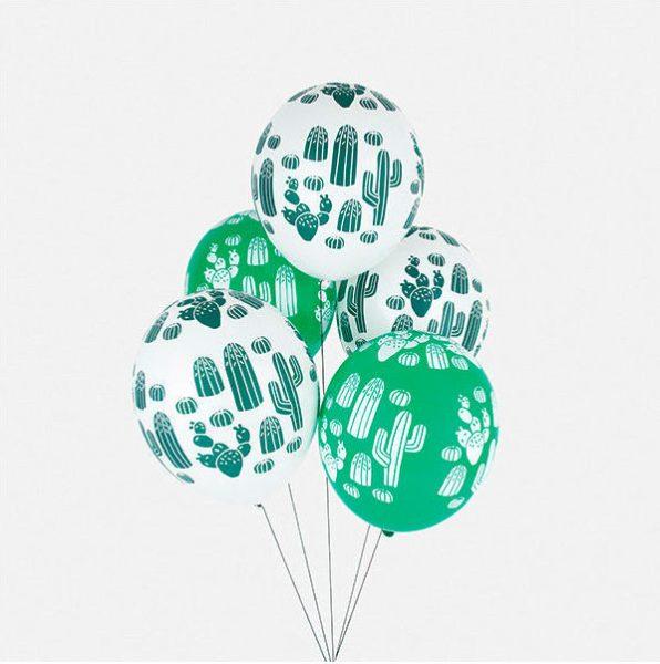 globos para fiestas con estampado de latex