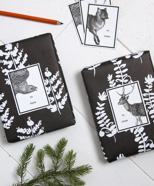 idea preciosa para envolver regalos