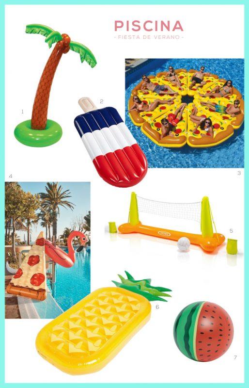 ideas para la piscina en verano