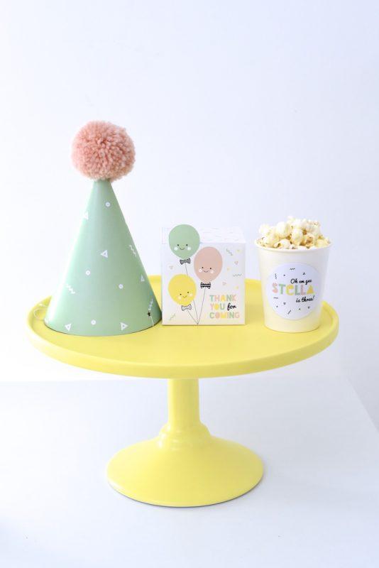 pack de bienvenida fiesta infantil con globos