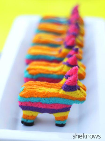 piñata pony multicolor presentacion con sorpresa
