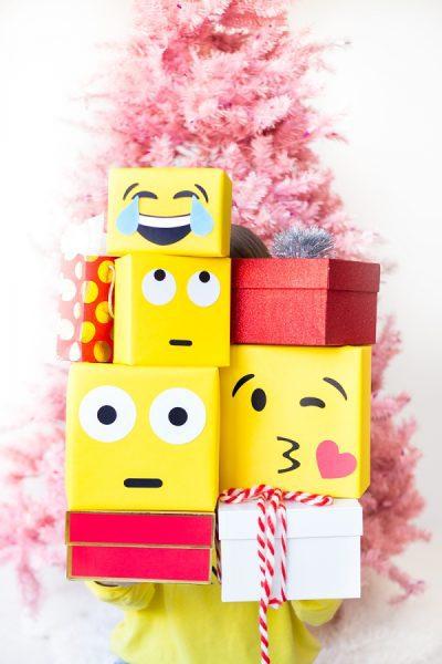 regalos emojis para niños como envolver regalos