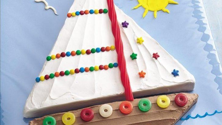 tarta de marinero para cumpleaños