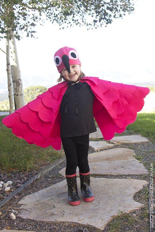 Disfraz de flamenco para todas las edades