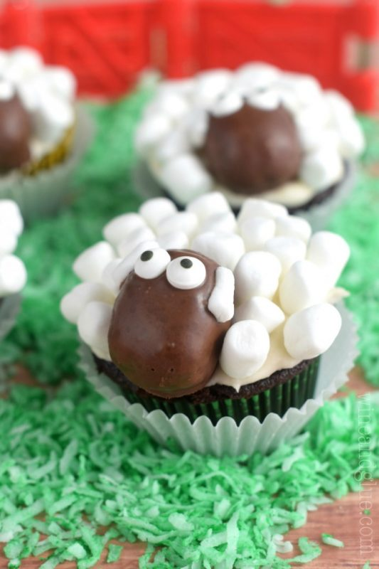 Receta Cupcake Ovejitas 2
