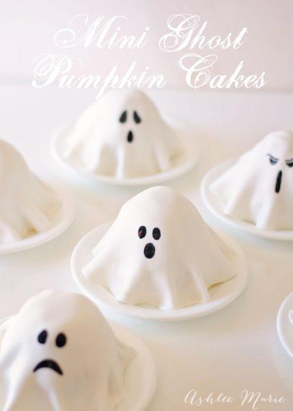 diveritda idea de pasteles de fantasmas