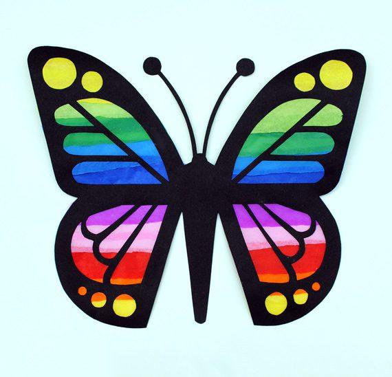 Manualidades de Animales: Mariposas de Colores