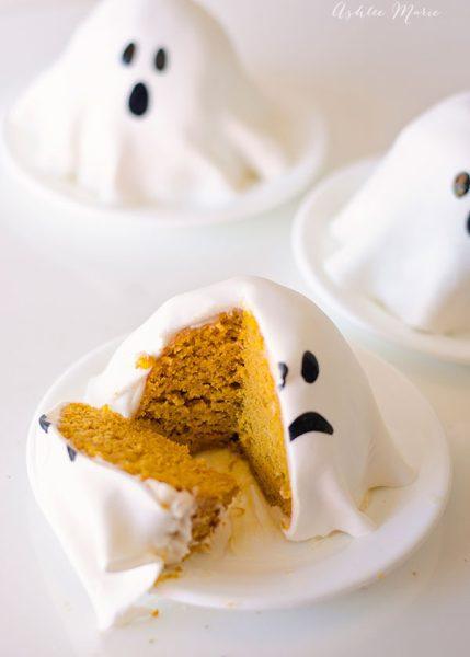 Recetas para Fiestas Infantiles: Bizcochos de Fantasma