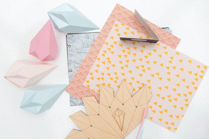 patron para lagrimas de papel