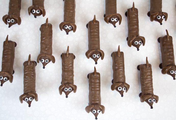 Perritos de Chocolate para Fiesta de Cumpleaños