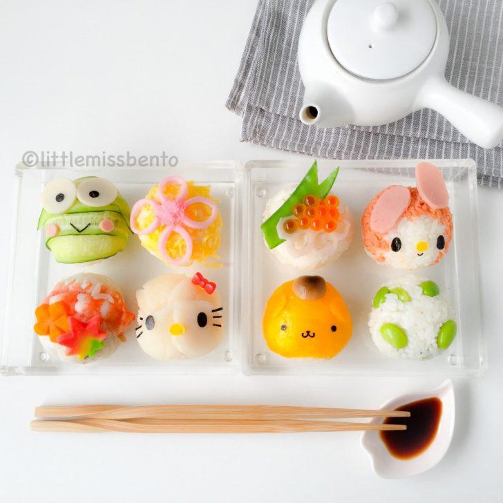 4 ideas de sushi para niños