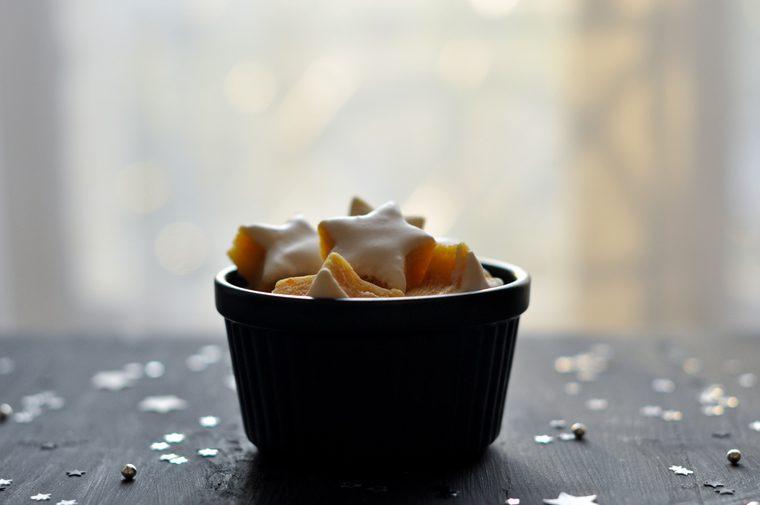 Receta Galletas gengibre y naranjas confitadas