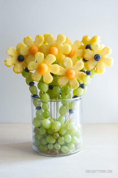 Recetas con Frutas para Niños, ¡Flores!
