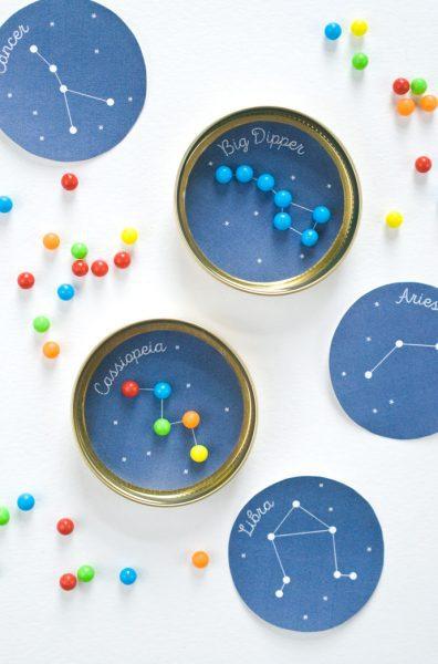Juegos Caseros: Constelaciones de Caramelos