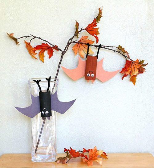 ideas-originales-para-halloween-murcielago-que-cuelga