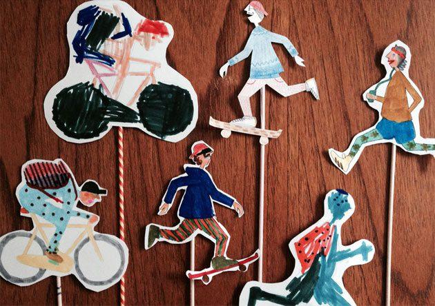 Juegos Caseros: Teatro de Marionetas
