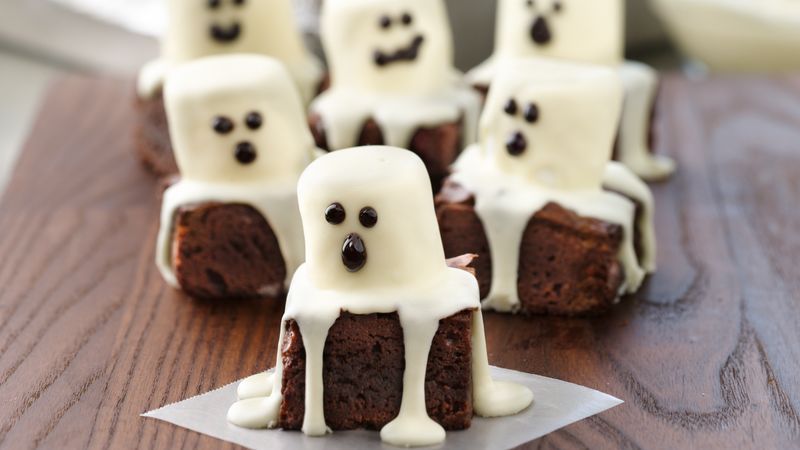 Recetas para Halloween:  Brownies de Fantasma