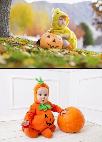 disfraces-para-bebes-para-halloween-pollito-o-calabaza