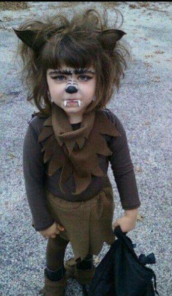 disfraz-de-nina-lobo-para-halloween