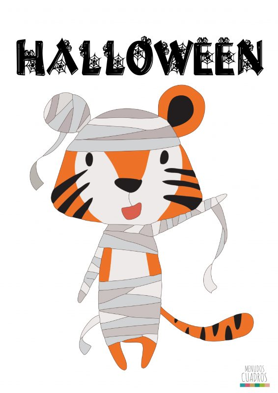 halloween-laminas-tigre-descargable
