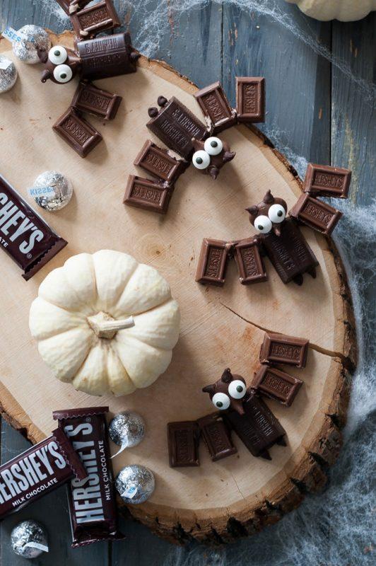 murcielagos-de-chocolate-para-halloween