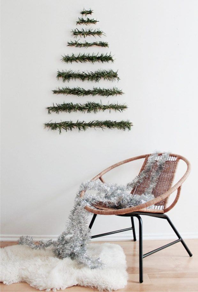 Árbol de Navidad Casero y Original