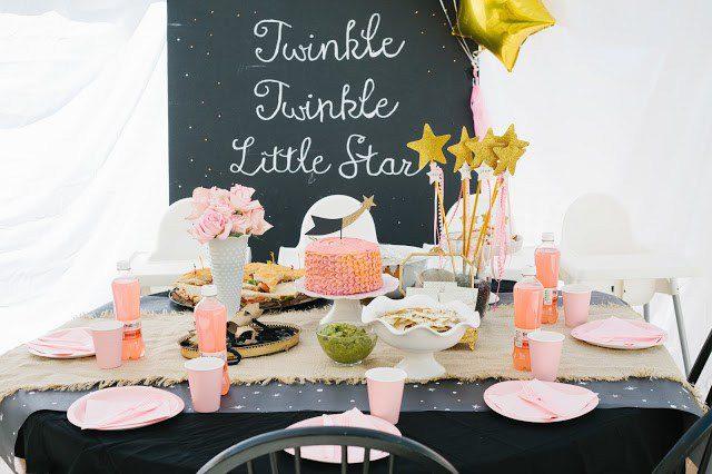 Decoración de Cumpleaños para Bebé ¡Estrellas!