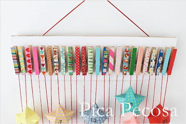 calendario-con-pinzas-de-la-ropa-para-adviento-navidad-con-papel