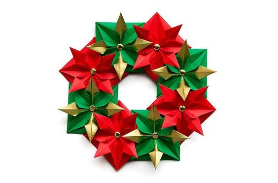 32 manualidades y adornos caseros para navidad fiestas y - Adornos de navidad con papel ...