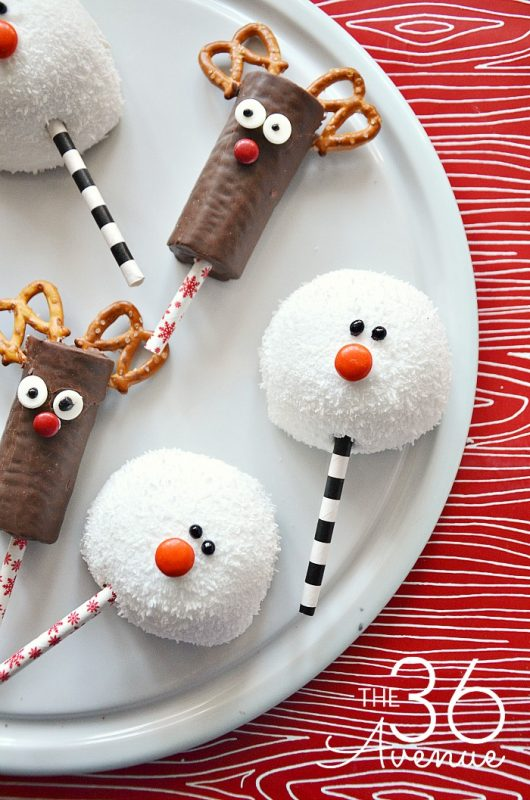 Aperitivos Dulces De Navidad Para Niños Fiestas Y Cumples