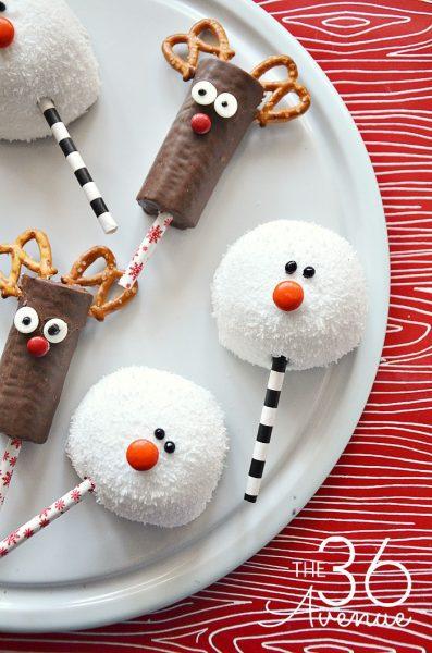 Aperitivos Dulces de Navidad para Niños
