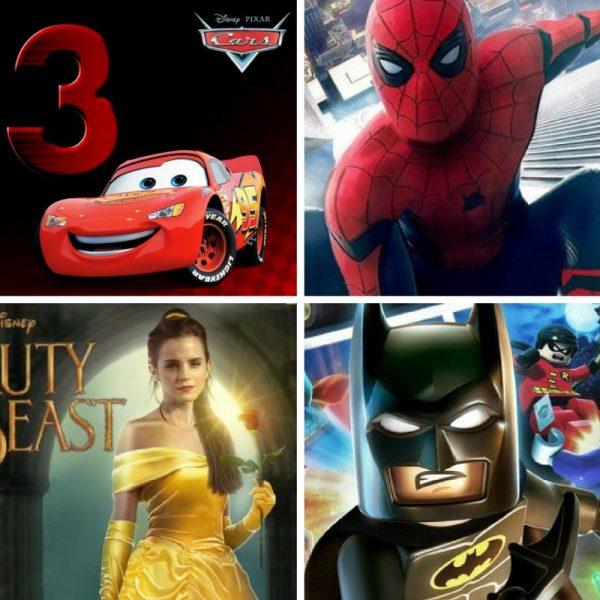 Estrenos de Cine Infantil para el 2017: Películas para Niños