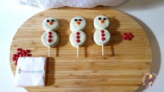munecos-de-nieve-con-galletas-postres-navidenos-para-ninos