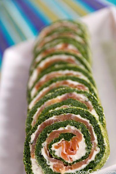 rollo-de-salmon-espinacas-y-queso-recetas-para-ninos-de-navidad