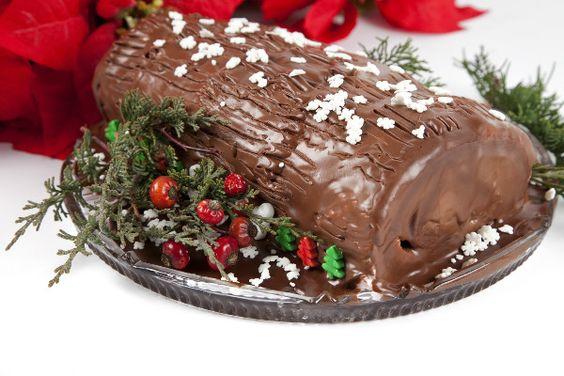 tronco-de-navidad-de-chocolate