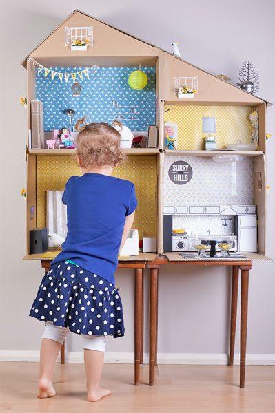 5 Ideas para Hacer una Casa de Muñecas