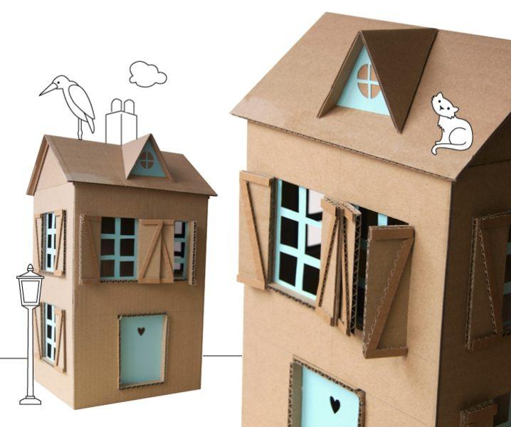 5 ideas para hacer una casa de mu ecas fiestas y cumples - La casa de las manualidades ...