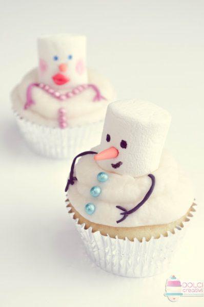 Cupcakes de Navidad para hacer con niños