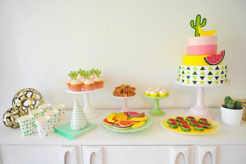 Fiestas Temáticas para Niños: Fiesta de la Fruta
