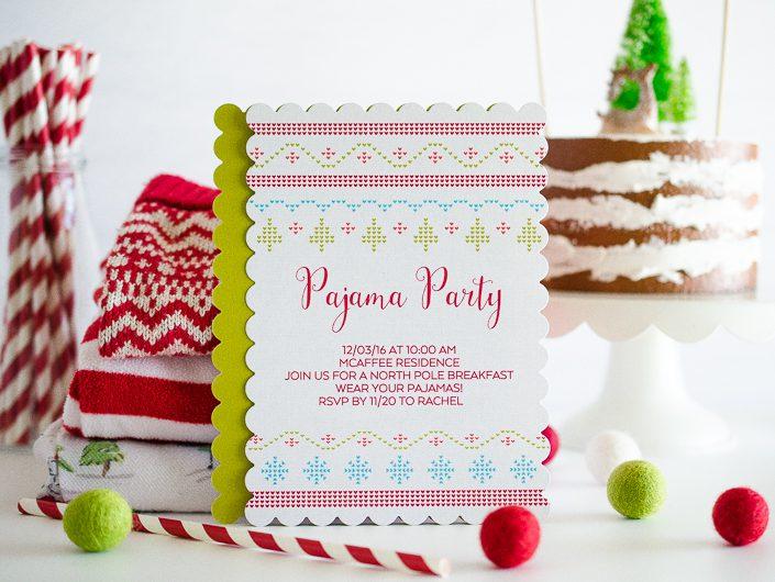 Fiesta Pijama en Navidad