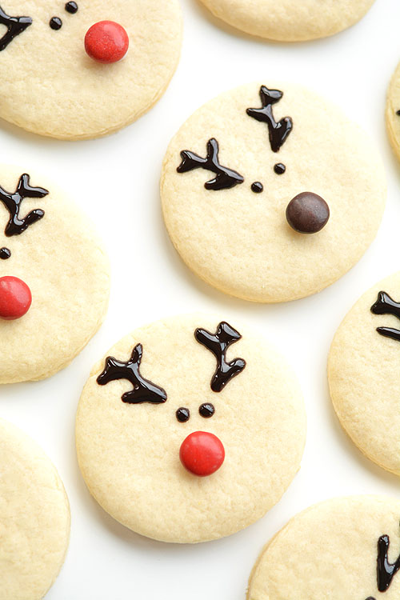 Recetas de Navidad: Galletas de Reno Rudolph