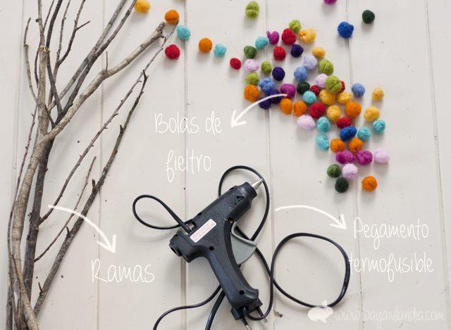 ideas-diy-para-decorar-ramas-con-bolitas-de-fieltro