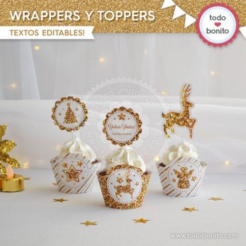 navidad-glitter-dorado-wrappers-y-toppers