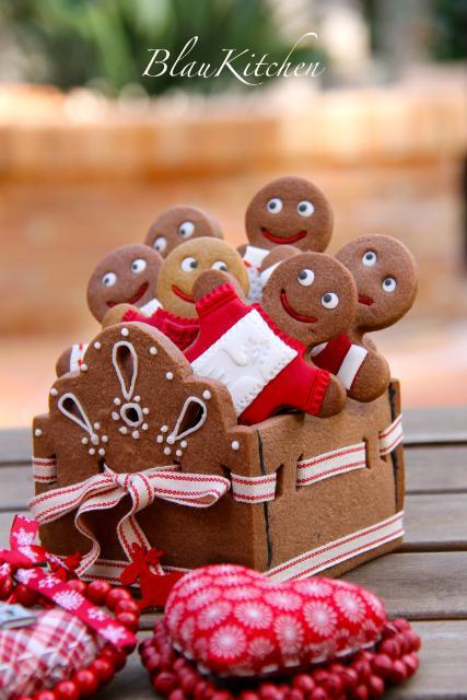 Recetas de Navidad: Caja y Galletas de Jengibre