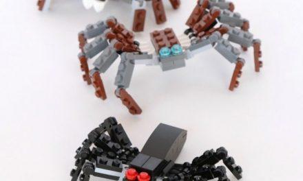 Arañas de LEGO para niños