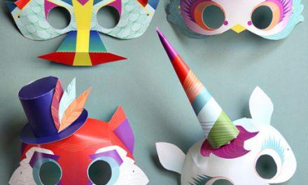 7 Máscaras Caseras para Carnaval