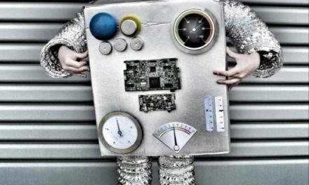 Disfraz de robot infantil para Carnavales