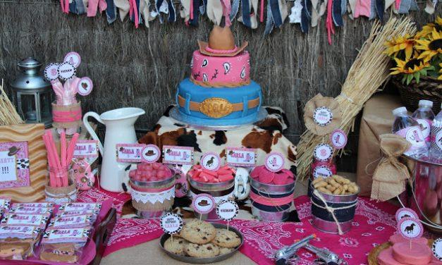 Fiesta Temática de Vaqueros para Niñas