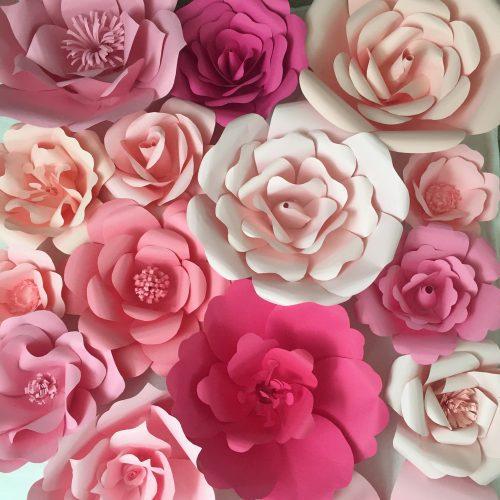 Decorar La Mesa Con Flores De Papel Fiestas Y Cumples