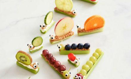 Aperitivos de fruta para niños: idea original para servir